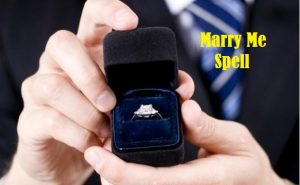 Marriage and commitment spells